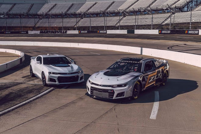 Chevrolet's new look on the racetrack will more closely connect to its cars in the showroom when Chevy campaigns its Next Gen Camaro ZL1 race car starting next season in the NASCAR Cup Series.