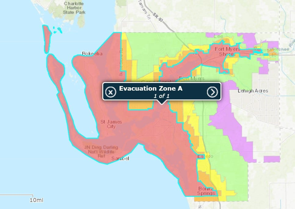 Should I stay or should I go? Know your hurricane evacuation zone to stay safe this summer 4