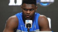 1. New Orleans: PF Zion Williamson. College: Duke freshman. Age: 18. Size: 6-7, 285. Michigan State Basketball