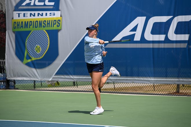 North Carolina senior Sara Daavettila, a Williamston native, is ranked second in singles play in NCAA Division I by the Intercollegiate Tennis Association. The Tar Heels are ranked No. 1 nationally entering the NCAA Championships.
