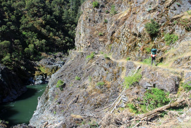 Two hikers, not pictured here or in this specific location, have died on the Rogue River Trail this spring.