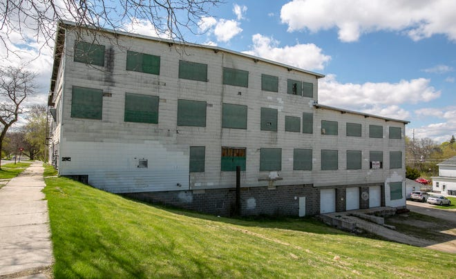 The exterior of a warehouse at 1234 Kentucky Ave. Wednesday May 5, 2021, in Sheboygan, Wis.