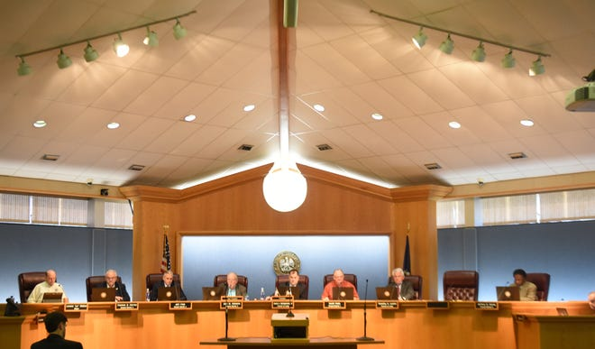 Bossier City city council meeting Tuesday afternoon.