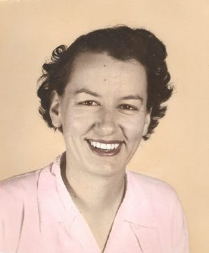 A picture of Judith McGinnis' mother from the 1960s.