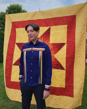 Christian Allaire, a fashion writer for Vogue and member of First Nations Ojibwe tribe in Ontario, Canada, will share a personal story about his ribbon shirt.
