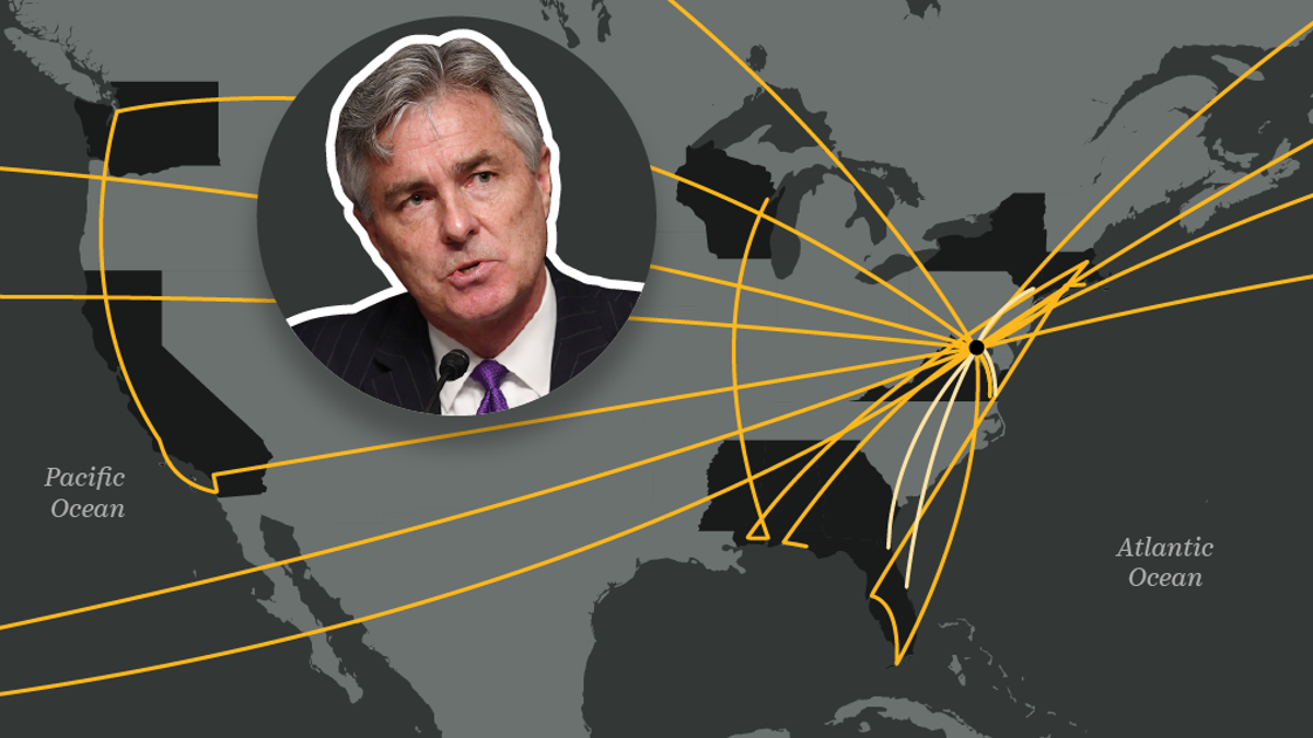 $2.3 million on travel in 8 months: Trump Navy secretary flew around the world, despite COVID-19