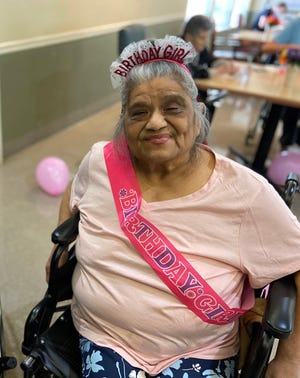 """""""Mother's Day would be the last time that I would see my mom's face,"""" said Rosie Davis, whose mother Mary Castro died of COVID-19 last May."""