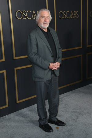"""Robert De Niro, who was nominated for best motion picture of the year for """"The Irishman,"""" is seen in 2020 in Los Angeles."""