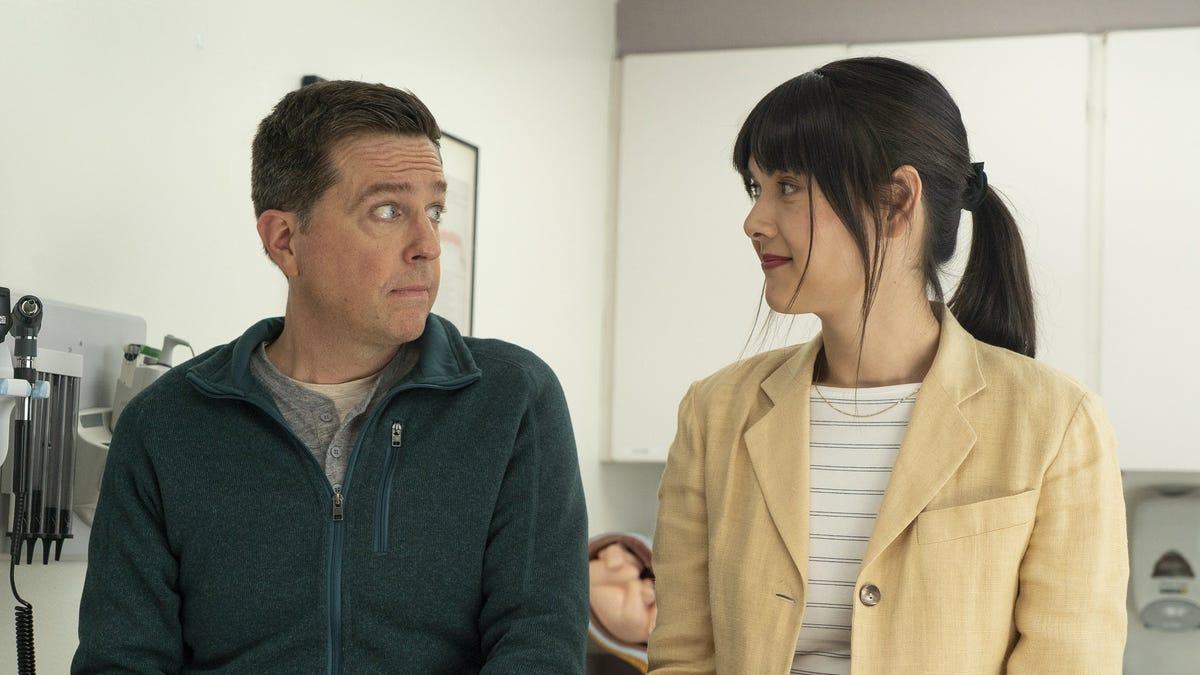 Review: In 'Together Together' with Patti Harrison and Ed Helms, family is a funny thing