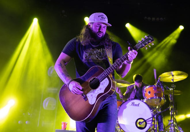 Koe Wetzel performs in January 2020 at ACL Live. Wetzel is on the just-announced lineup for KOKEFest in August.