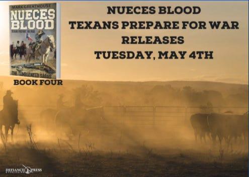 Nueces Blood Book Release