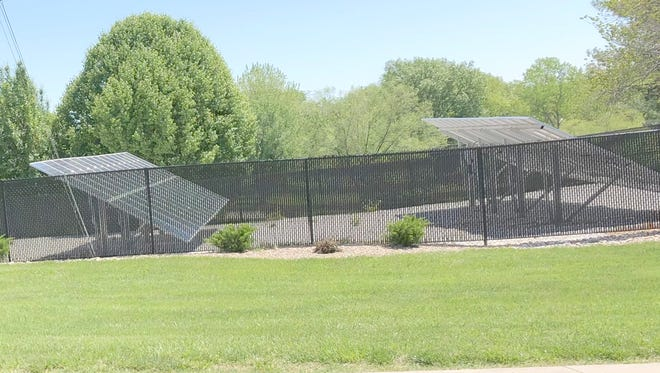 Boonville residents on Main Street and Sonya voiced their concerns Monday night during the council meeting over solar panels being placed near a subdivision.