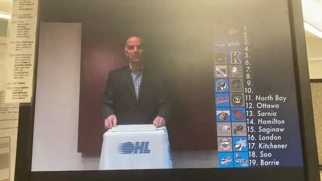 The Erie Otters, based on Wednesday's special lottery, were among the Ontario Hockey League franchises that learned where they'll pick in the first round of next month's draft.