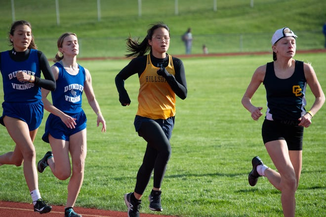 Hillsdale Track versus Dundee and Columbia Central