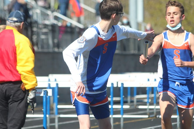 Saugatuck and Black River competed in a track meet at Saugatuck on May 5, 2021