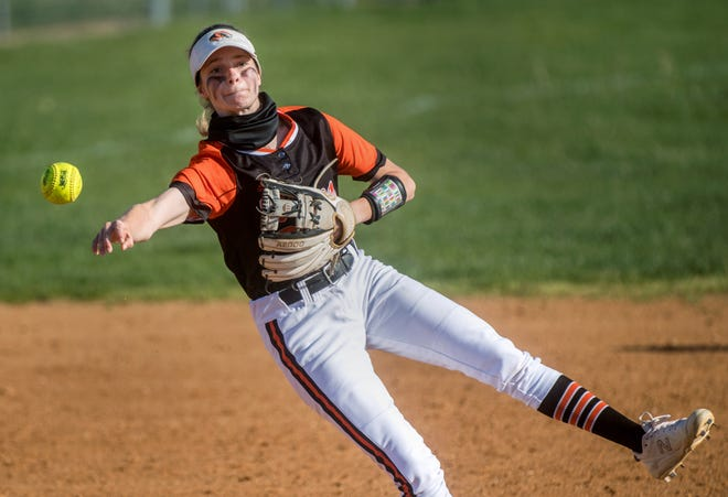 Illini Bluffs shortstop Addie Welsh and the top-ranked Tigers are one victory away from the Class 1A state finals.