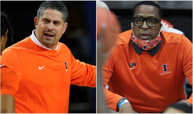 Orlando Antigua and Chin Coleman are leaving Illlinois and joining John Calipari's staff at Kentucky.