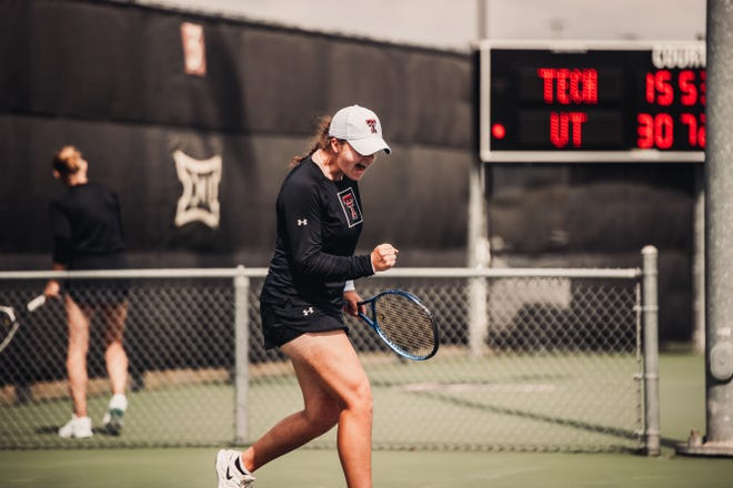 Texas Tech tennis player Lisa Mays and her Lady Raiders teammates face the University of San Diego in the first round of the NCAA Tournament on Friday afternoon in Los Angeles. The Tech-San Diego winner plays the UCLA-Grand Canyon winner on Saturday for a spot in the round of 16.