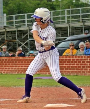 Rosepine senior Chloe Bennett closed out her stellar high-school career by being named the Most Valuable Player in District 5-2A, registering 338 strikeouts this season.
