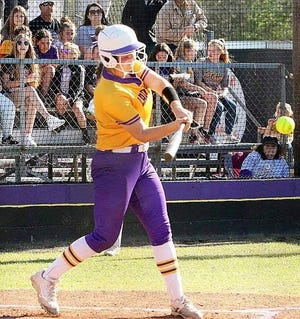 South Beauregard junior first baseman Morgan Eaves was named the District 4-3A Most Valuable Player after shattering the single-season school record in home runs and leading her team to a league crown.