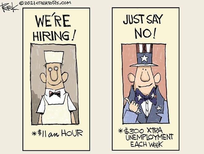 Today's editorial cartoon (May 7, 2021)