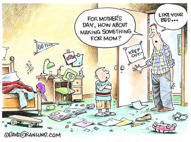 Dave Granlund cartoon about Mother's Day