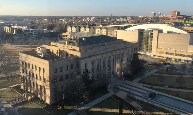 Three public hearings are planned before adoption of Oklahoma City's fiscal 2022 budget June 8. The $1.649 billion budget is down 2.4% from last year.