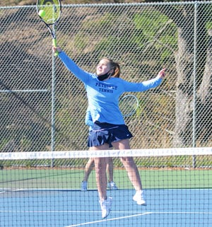 Laura Pawlick and No. 4 doubles partner Emma Markham earned another win when they met Alpena on Wednesday.