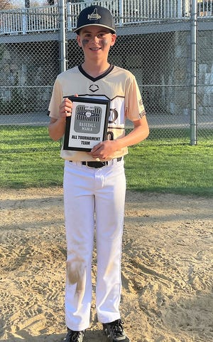 North East Baseball New Hampshire's Austin Corbett, of Portsmouth, was named to the New Balance Select 12U Baseball Mania All-Tournament team.