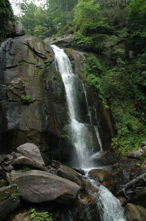 The Wilderness Gateway State Trail will span a proposed east/west route through the South Mountains, passing through four Western North Carolina counties.