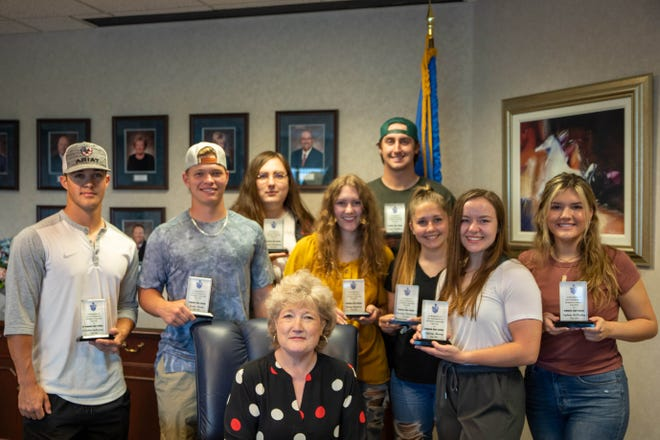 Eight Seminole State College President's Leadership Class students recently received awards recognizing their completion of two years in the program.