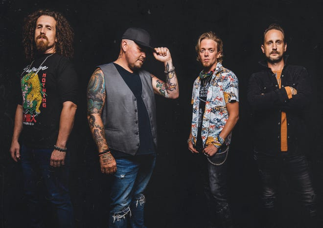 Black Stone Cherry will be the opening performance on Aug. 20 at the Brown County Fair. Courtesy photo