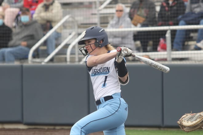 Washburn freshman Marrit Mead was named the MIAA Freshman of the Year on Wednesday and was one of three Ichabods to earn first-team All-MIAA honors. Mead led the conference in hits.