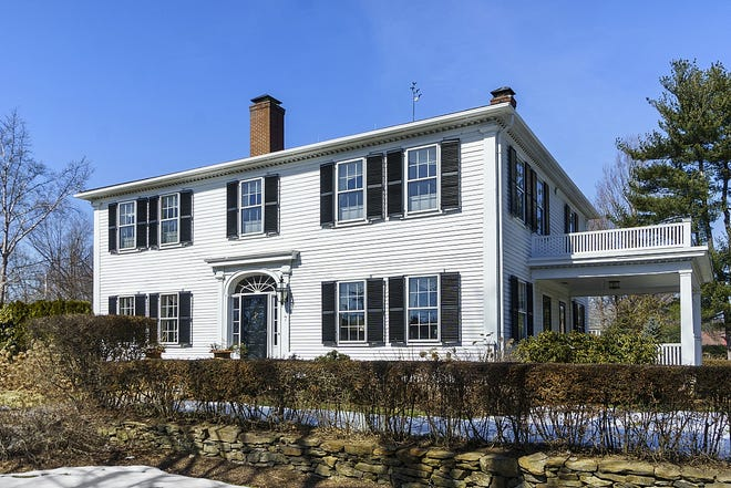 This 4,700-square-foot house at 7 Prospect St. in Shrewsbury is on the National Register of Historic Places and lists for $1.55 million. View a photo gallery at telegram.com.