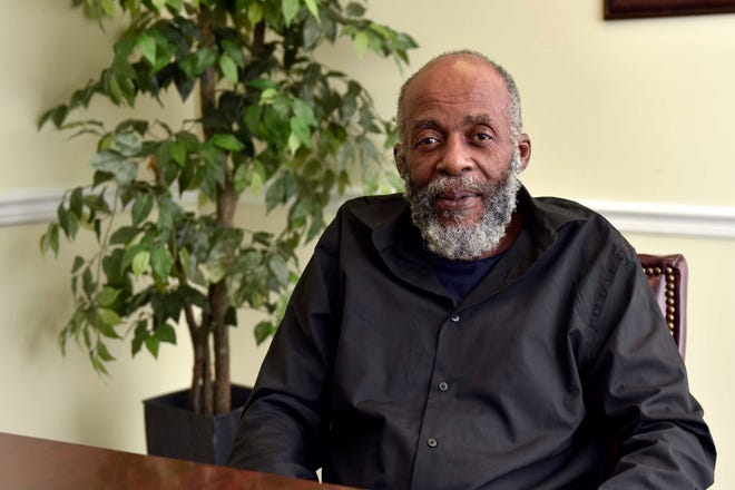 Robert Earl Edwards at The Michael Porter Law Firm office. Thursday, May 6, 2021