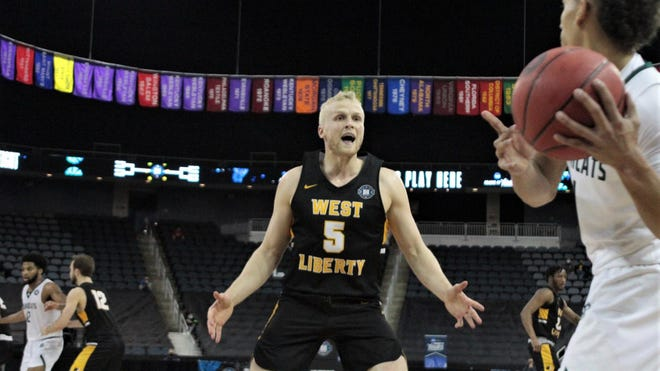 West Liberty University men's basketball standout Dalton Bolon has been named to the 2020-21 NCAA Division II Academic All-District® 2 Men's Basketball Team for the third straight season.