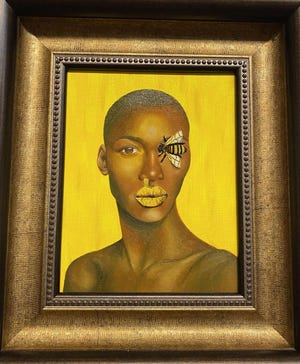 """""""Honey"""" by Megan Mueller won Best of Show in the 58th Bay Annual competition and exhibition at the Panama City Center for the Arts."""