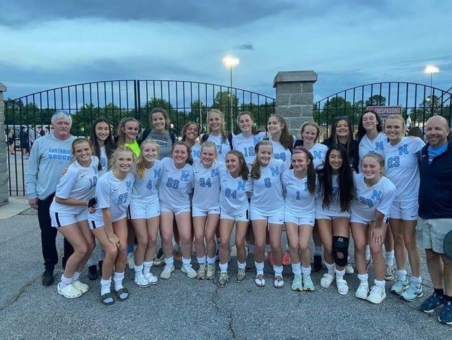 Northridge's 2021 girls soccer team