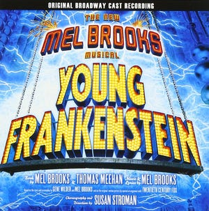 Young Frankenstein in June with stage Crafters.