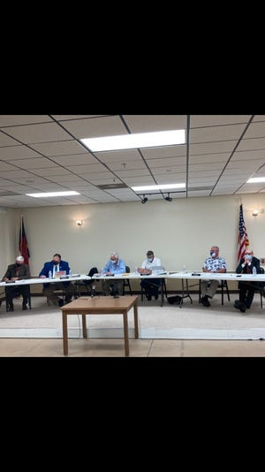 The Madison County Board of Commissioners heard public comments on the dump card fee, as well as the proposed asphalt plant during its April 13 meeting.