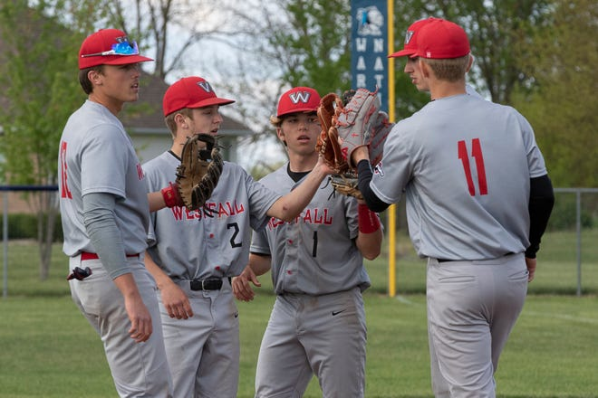 Westfall was one of several area high school baseball teams to earn a high seed during Sunday's Southeast District tournament draw. The Mustangs are seeded No. 4 in Division III.
