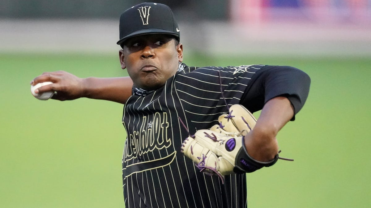 Vanderbilt has pair of aces; could one of them be in the cards for Tigers in MLB Draft? 2