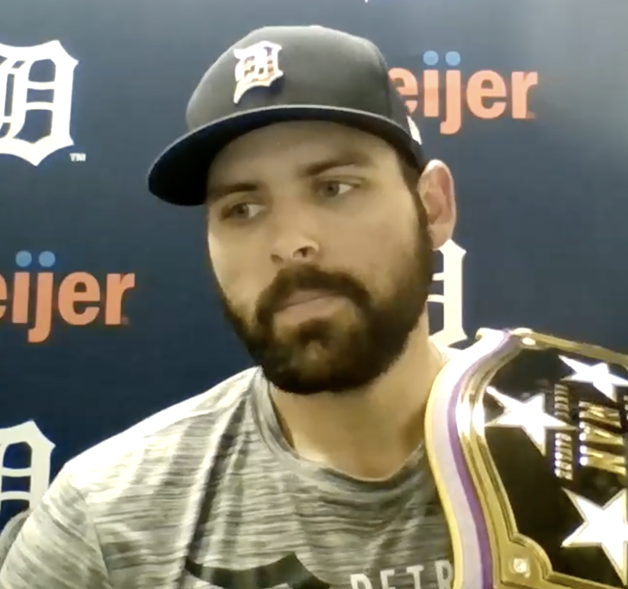 'Our guys are fighting': Candelario slams 10th-inning bomb as Tigers hang on for 6-5 win against Red Sox in team effort 1