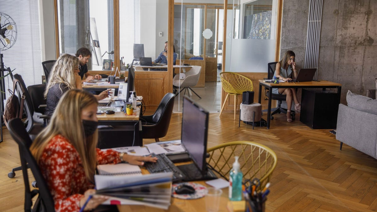 In Israel, a glimpse of what returning to the office will look like 2