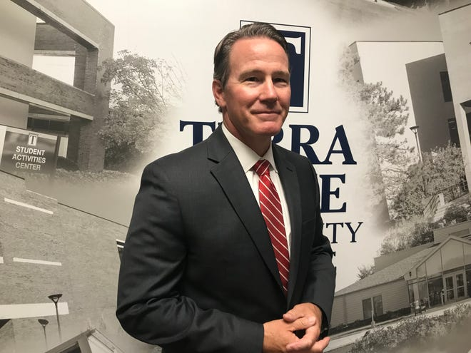 Lt. Gov. Jon Husted visited Terra State Community College Thursday to talk about jobs as part of In-Demand Jobs Week, a statewide celebration of the jobs, industries and skills that are in-demand in Ohio.