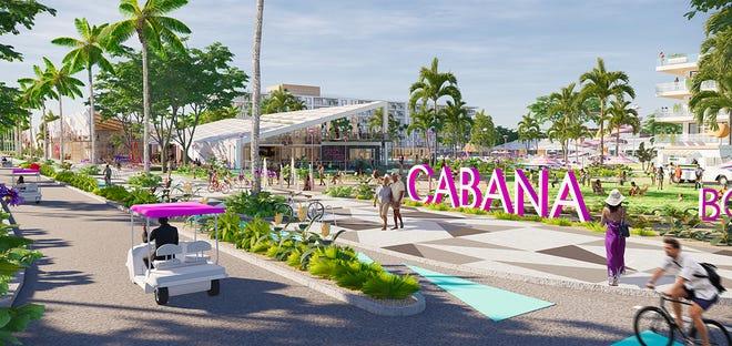Cabana Resort design for Great Food Hall on Bonita Beach Road