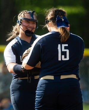 Lancaster senior Emma Burke, who hit 17 home runs this season, was named Division I first team All-Ohio by the Ohio High School Fastpitch Softball Coaches Association.