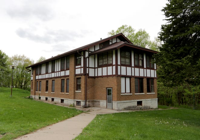 A building on the campus of the Mendota Juvenile Treatment Center at 301 Troy Drive in Madison.