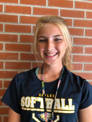 Kelsey Scott, Naples softball