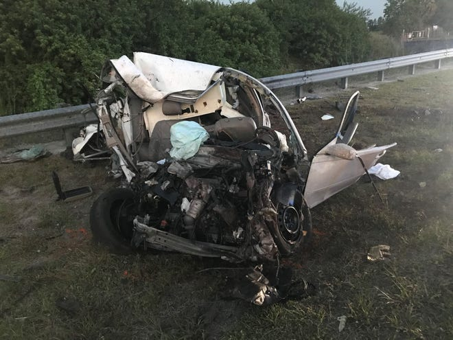 A Cape Coral man was killed and a Lehigh Acres man injured in the crash of a car and a tractor-trailer rig on state Road 29 in Collier County Wednesday night.